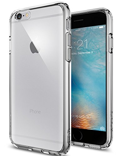 igen® [Ultra Hybrid] Luftpolster-Technologie [Space Crystal] Durchsichtige Rückschale und TPU-Bumper Schutzhülle für iPhone 6/6S Case, iPhone 6/6S Cover - Space Crystal (SGP11599) (Iphone 6 Hybrid Case)
