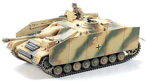 TAMIYA 300035087 - 1:35 WWII Sonderkraftfahrzeug 163 Sturmgeschütz IV (1)