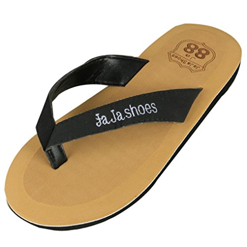 Fulltime® Hommes Tongs Pantoufles Sandales de plage d'été Indoor & Outdoor Slippers