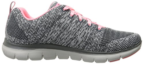 Skechers - Flex Appeal 2.0-high Energy, Scarpe sportive Donna Grigio (cccl)