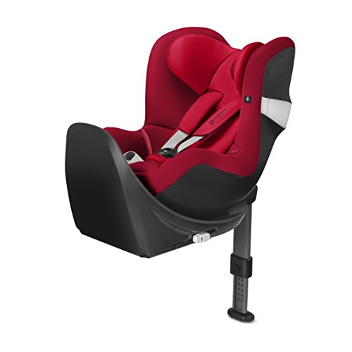 CYBEX Sirona M2 i - Size Siège Auto Groupe 0+/1 Naissance - 4 ans Base M Inclus - Rebel Red