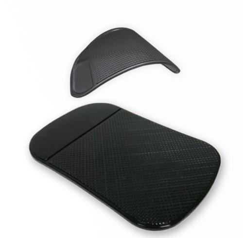 Preisvergleich Produktbild Original smartec24® Antirutschmatte schwarz Anti Rutsch Matte Haftmatte Antirutschpad für Kleinteile Telefone etc. ideal für fast alle Oberflächen KFZ Armaturen