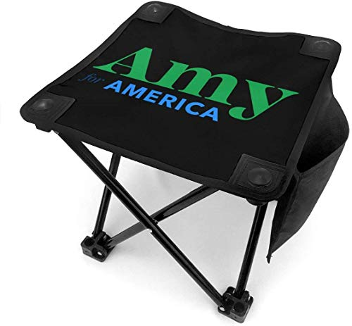 123456789 Klappbarer Campinghocker Amy Klobuchar für President 2020 Lightweight Outdoor Chairs Camping Sitz mit Tragetasche