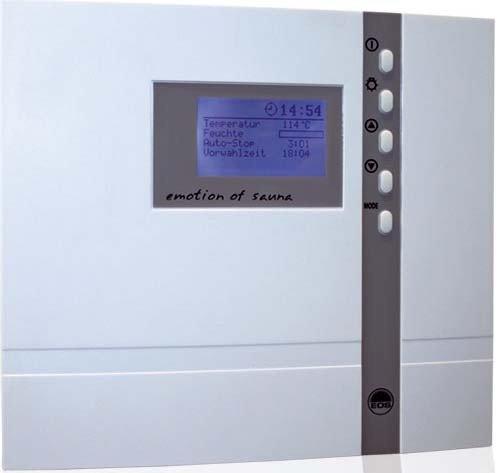 EOS ECON H2 Saunasteuergerät
