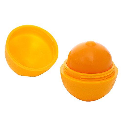 GUYD Mode Elegant Zitronenmelisse Ball tragbare glatte feuchtigkeitsspendende Kugel Lip Pomade...