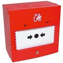 fa17 – Llave Manual para pulsador de alarma contra incendios, con LED, sin Sounder