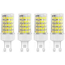 bombillas LED G9 de 10W, Equivalentes a Lámparas halógenas de 70W, Blanca fría 6000K