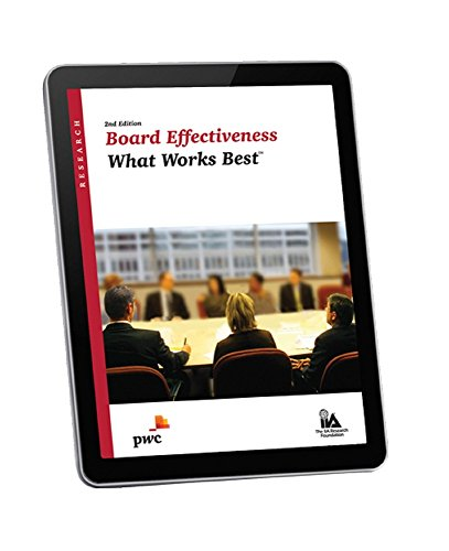 board-effectiveness-what-works-best-2nd-edition-english-edition