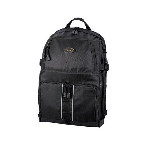 Lightpak - 46506 - Profi Fotorucksack für D-SLR mit Laptopfach, Nylon, schwarz