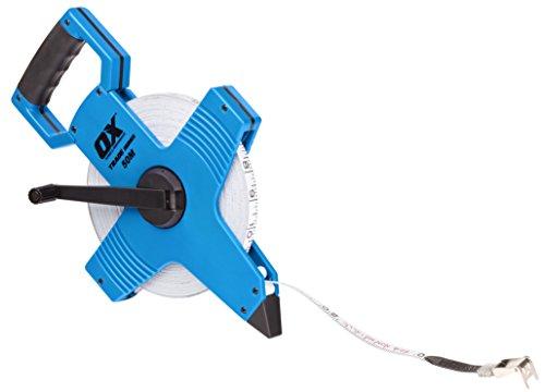 OX Open Reel Fibreglass Metric Measuring Tape (Tape Open Reel)