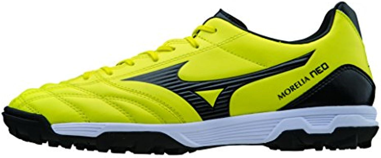 Mizuno Zapatos de deporte Oficial Futbol 2015/2016 Morelia Neo UT AS P1GD151594 Negro amarillo Tamano 42