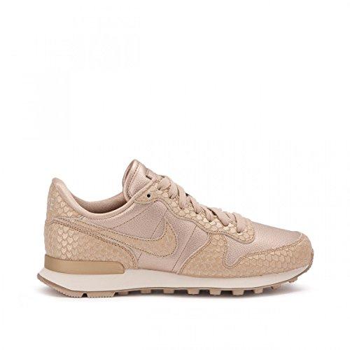 "Nike Internationalist Prm Premium ""Blur"" Snake Skin, Scarpe da Corsa Donna Gold"