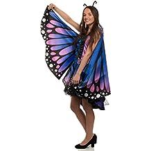BRANDSSELLER Damen Kostüm Verkleidung für Karneval Fasching Halloween Parties