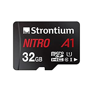 Strontium Nitro A1 128GB Micro SDXC Memory Card 100MB/s A1 UHS-I U3 Class 10 with High Speed Adapter for Smartphones Tablets Drones Action Cams (SRN128GTFU3A1A) Best Online Shopping Store