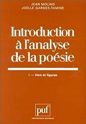 Introduction à l'analyse de la poésie