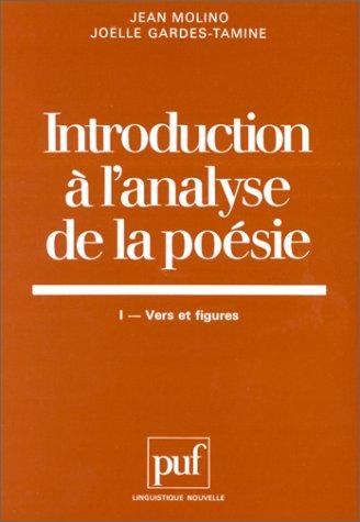 Introduction à l'analyse de la poé...