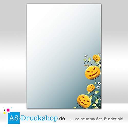 Designpapier Halloween - Ranke / 25 Blatt/DIN A4 / 90 g-Offsetpapier
