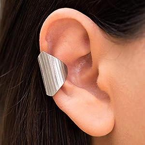 925er Ohrstulpe aus Sterling silber, ohr manschette für nicht durchbohrtes Ohr, griechischer handgefertigter Schmuck von…