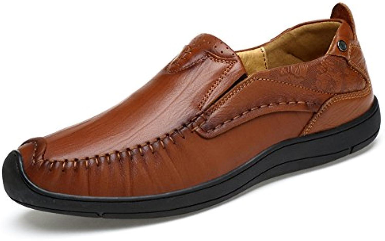 Mocassini Estive Traspirante Lavoro Scarpe Comode Antiscivolo Outdoor Pelle | Il Nuovo Prodotto  | Maschio/Ragazze Scarpa