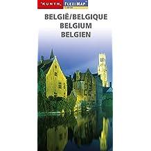 KUNTH FlexiMap Magnum Belgien 1:300000