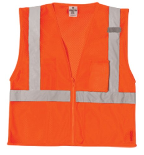 ML kishigo Ultra-Kühler Polyester Mesh 3Weste, orange, 5XL, Orange, 1