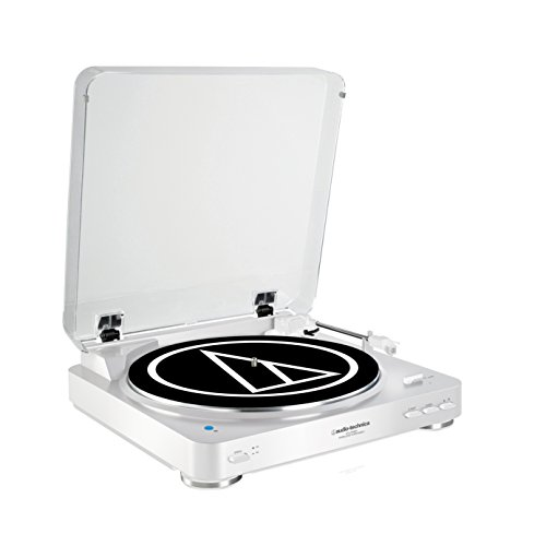 Audio Technica AT-LP60BTWH Color Blanco - Tocadiscos