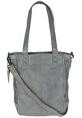 Legend Damen Palermo Tote, 16 x 34 x 27 cm Medium Grey