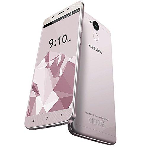 Blackview-P2-Lite-6000mAh-Smartphone-Libre-4G-de-55-FHD-Android-70-cmaras-13-MP-8-MP-32GB-ROM3GB-RAM-8-ncleos-MTK6753-OTG-lector-de-huellas-gris