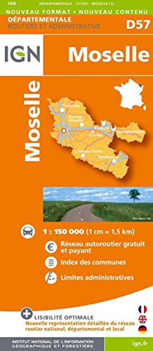D57 MOSELLE  1/200.000