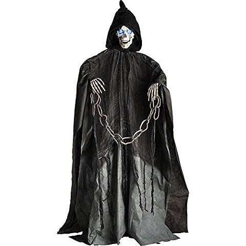 Carnival Toys - Pecho peludo con gomas en bolsa, color negro (8170)