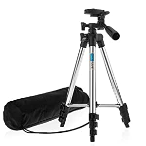 Yousave Accessories Compact Portable Travel Tripod Stand Mount for Digital Camera / Camcorder / DSLR / Video Cameras