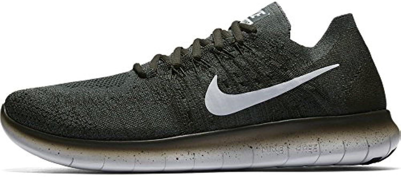 Nike Men's Free RN Flyknit 2017 Vintage Green/Sequoia 880843 300