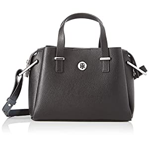 Tommy Hilfiger Damen Th Core Med Satchel Business Tasche, 1x1x1 cm
