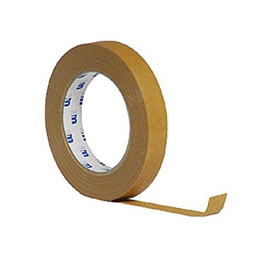 MP Abdeckband Tape100 bis 120°C Klebeband braun Malerband 19mm x 50m