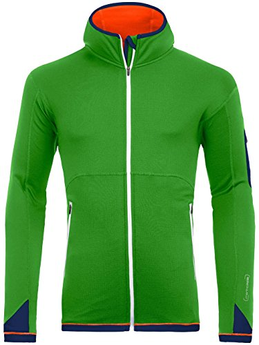 Ortovox Merino Fleece Light Hoody Men absolute green