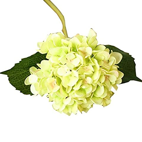 Artificial Silk Floral Flower,Bescita 5PCS Faux Artificial Silk Floral Flower Bouquet Hydrangea Party Decor Craft