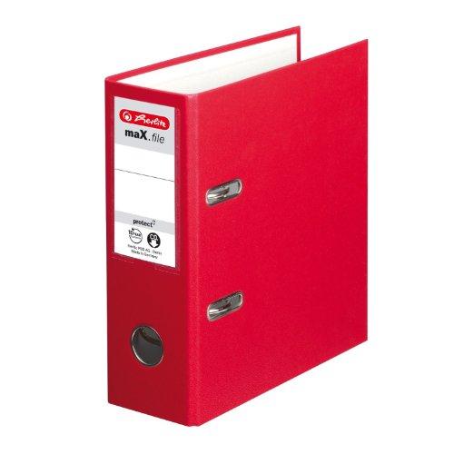 Herlitz 10842318 - Archivador protector archivos A5