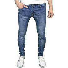 ba5896bc7ef96 526Jeanswear Senjo - Pantalones Vaqueros Ajustados para Hombre