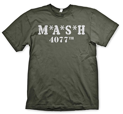 Wotan Textil M.A.S.H 4077 - Tshirt, Oliv, XL