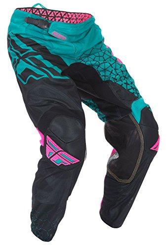 Fly Racing Motocross Kinetic Mesh Hose Trifecta teal-pink-sw 34 Motocross MX Enduro - Kinetic Mesh Motorrad Hose
