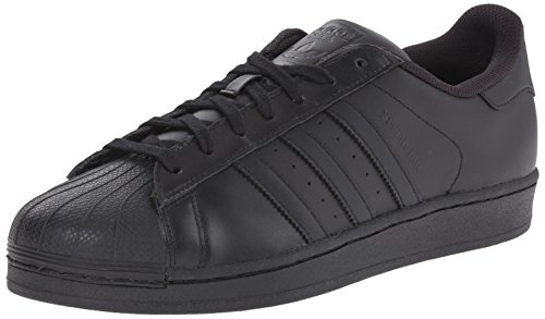 Adidas Superstar, Baskets Basses Athlétiques Noir / Noir / Noir