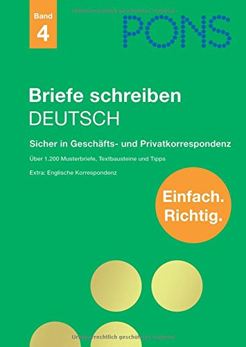 Ndidi Valerian Pdf Pons Briefe Schreiben Deutsch Sicher In