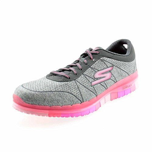 Skechers Go Flex Ability, Sneaker Donna Grey