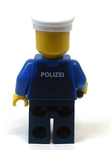 Modbrix 8237 – 2 Stück Deutsche Polizei Custom Minifiguren aus original Lego© Teilen - 6