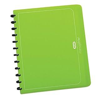 ELBA 100421156 Ringmappe manageMe! A4 mit vario-zipp-Prinzip 25 Hüllen grasgrün