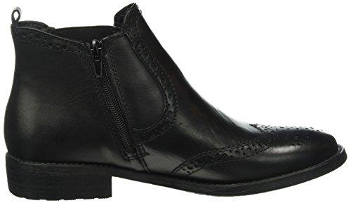 Tamaris 25493, Stivali Chelsea Donna, Schwarz (Black 003) Nero (Black Leather 003)