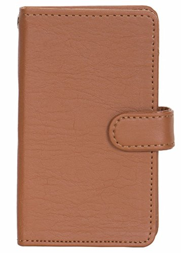 Panasonic P81 - Handmade Flip Wallet Leather Pouch Cover Comfortable & Stylish (Be Unique Buy Unique) Buy it Now By Senzoni  available at amazon for Rs.349