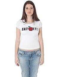 ZU ELEMENTS Z1102170B036OT Apple Camiseta con Las Mangas Cortas Mujer