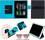 reboon Hülle für Allview Viva Q10 Pro Tasche Cover Case Bumper | in Schwarz | Testsieger
