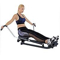 Preisvergleich für HECHEN Rudergerät-Heim Stumm Rudergerät Taille Training Hydraulische Ruderübungs-Fitnessgeräte